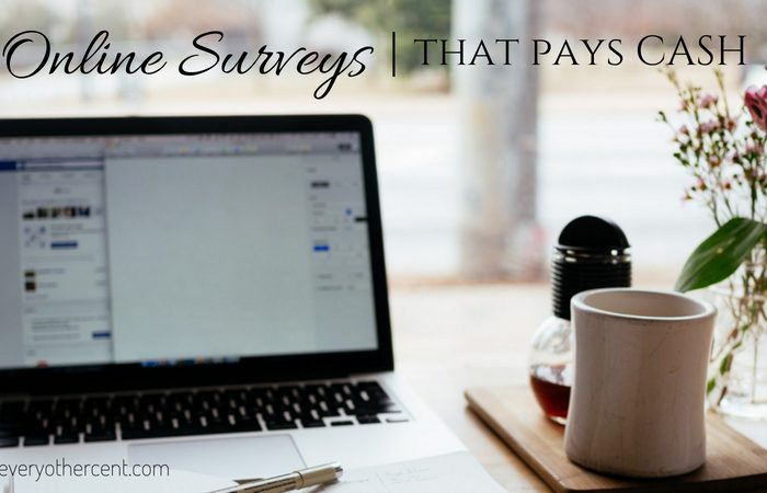 Surveys that Pay Cash
