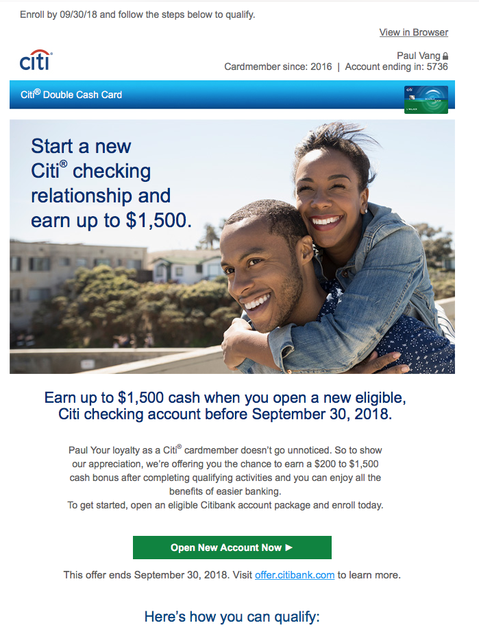 CitiBank is Giving Away FREE Money: Get Yours! - Every Other Cent